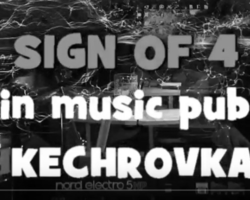 Video: Sign of 4 in Music pub Kechrovka