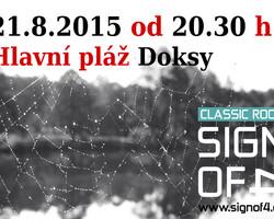 Koncert: Hlavní pláž Doksy - 21.08.2015 od 20.30